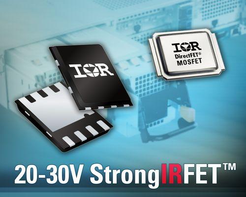 IR推出20V至30V的全新 StrongIRFET系列