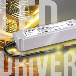 RECOM发布拥有三合一调光的45W以及60W LED驱动器