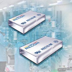 RECOM发布高性价比的DC/DC转换器系列REC10-M(10W)和REC15-M(15W)
