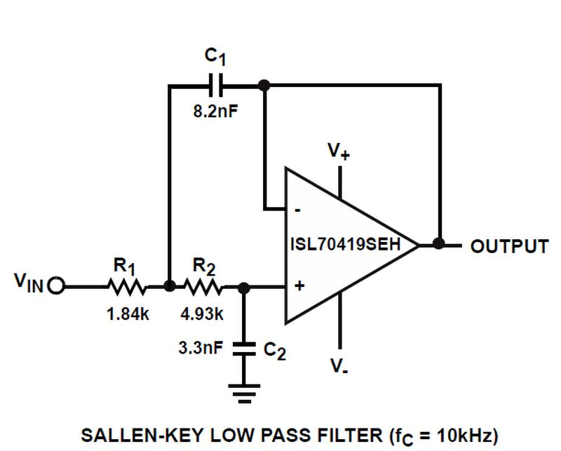 英特锡尔推出高性能36 v四精度低功耗运算放大器