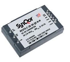 SynQor发布了高功率1/4砖 EXA系列军工货架型 (Mil-COTS) 产品