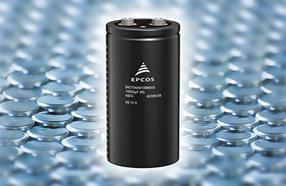 TDK新型铝电解电容器:紧凑螺钉式系列,超强纹波电流能力