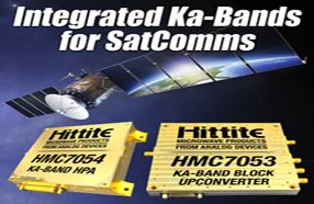ADI推出面向单载波卫星通信设备的Ka频段HPA和模块上变频器