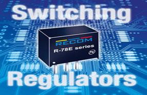 RECOM推出低成本的新型开关稳压器模块R-78E系列