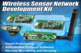 ADI推出最新全面的无线传感器开发套件
