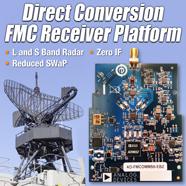 ADI雷达系统直接变频接收机开发平台,支持关键的L和S波段雷达