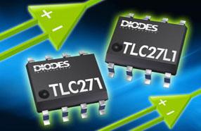 Diodes推出可编程运算放大器系列TLC271