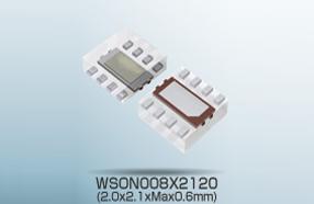 ROHM新型照度色彩传感器BH1745NUC,适用于智能手机
