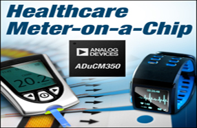 ADI推出的高精度、低功耗片上计量仪ADuCM350