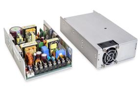CUI紧凑型400W Ac-Dc电源系列提供四种可选机架安装盒