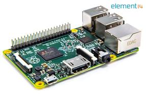 e络盟推出全新第二代树莓派B型板,速度提升6倍