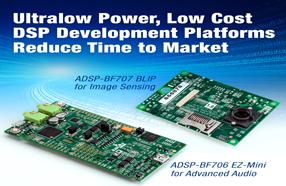 ADI低成本DSP开发平台加快成像检测和高级音频应用上市时间