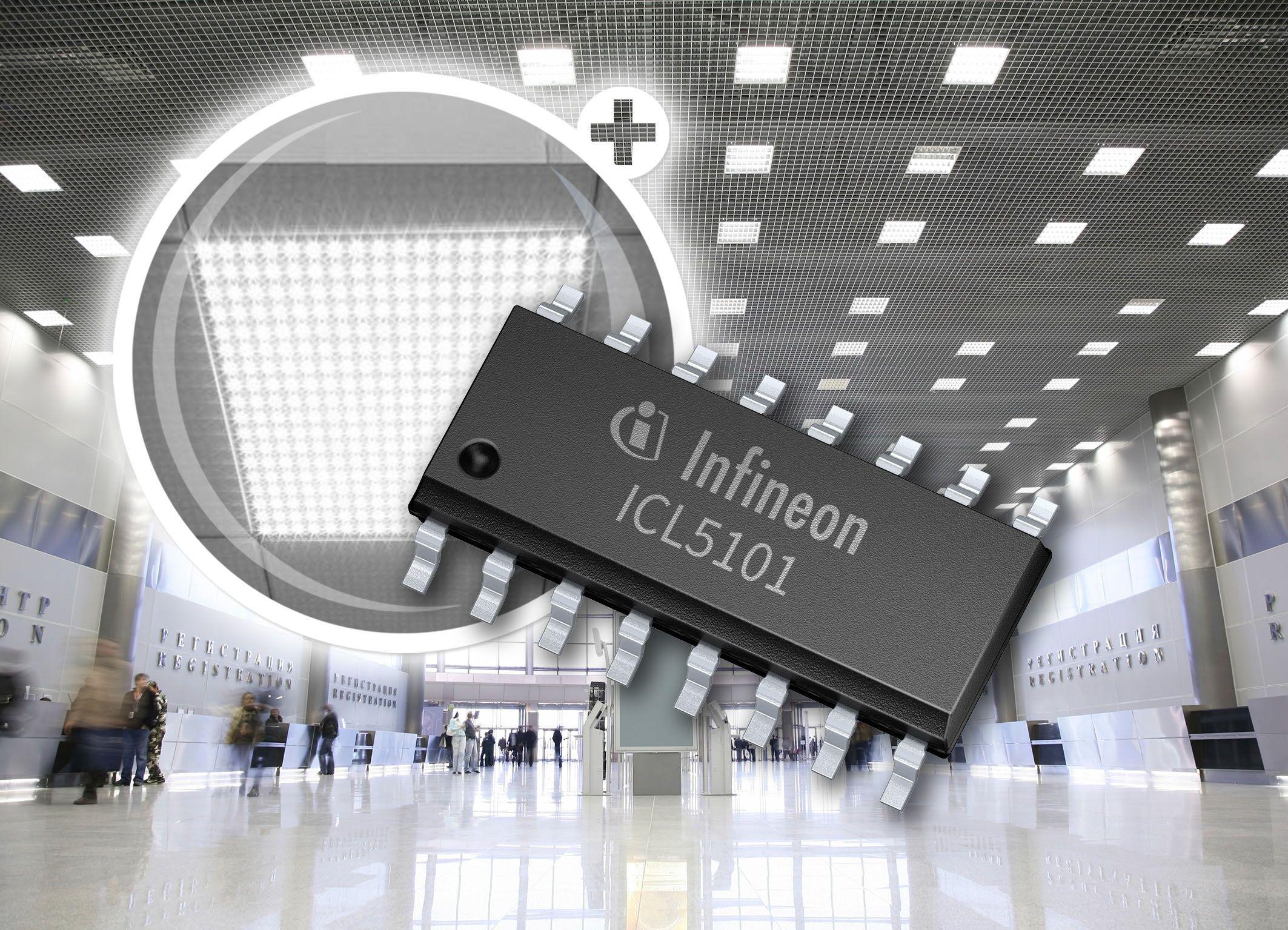 英飞凌推出具PFC功能的高压谐振控制器,谐振拓扑效率高达95%