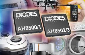 Diodes新款霍尔传感器可有效降低功耗及提高精准度