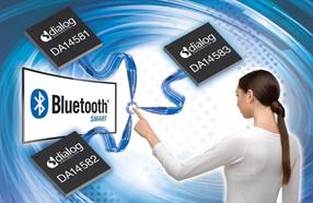 Dialog超低功耗智能蓝牙SoC系列扩充新品,用于物联网应用