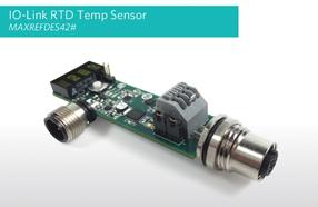 Maxim推出更灵活可靠、更低成本的高集成度IO-Link温度传感器