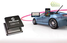Microchip MOST150 INIC经济高效,轻松实现同轴连接