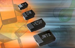 Vishay推出超小尺寸的新钽电容器--TMCJ、TMCP和TMCU