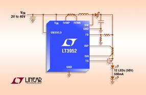Linear 推出具内部 4A 开关和 PWM 发生器的 60V LED 驱动器