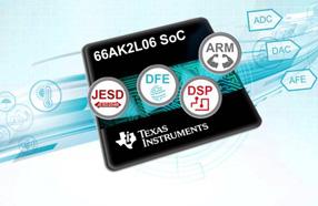 TI推出基于KeyStoneTM的高集成度66AK2L06片上系统