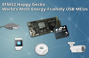 Silicon Labs推出最节能的USB微控制器