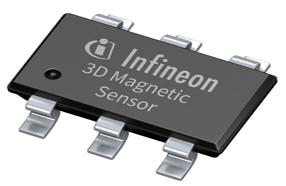英飞凌高精度低功耗3D磁性传感器可使电表系统更小巧、节能