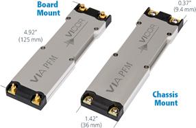 Vicor推出高功率密度的VIA PFM™AC-DC前端模块,可快速产品上市时间