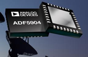 ADI推出一款高度集成的四通道24 GHz接收机下变频器