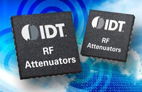 IDT发布3款衰减器产品,具备低损耗与超高线性度