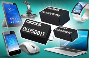 Diodes新款超速开关二极管DLLFSD01x系列可提供超低漏电流