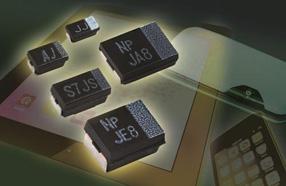 Vishay扩充其高性能表面贴装聚合物钽式电容器T55系列