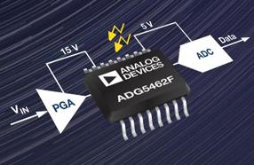 ADI公司新款四通道保护器和多路复用器可提供精密保护