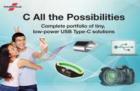 小尺寸高功率:Fairchild发布完整USB Type-C产品组合