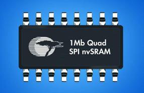 赛普拉斯新款1Mb nvSRAM带四个SPI,可超越更大尺寸并行接口器件的数据吞吐量