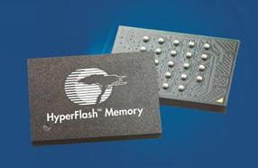 高性能应用的最佳选择:赛普拉斯推出业界最高速HyperFlash NOR闪存产品