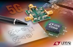 Linear新款双平衡混频器具宽广RF频率范围,可作上、下变频器两用