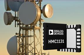 更简发射配置和更高集成度:ADI推出中等功率分布式驱动放大器HMC1131