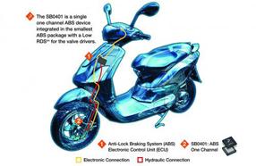 飞思卡尔推出面向摩托车防抱死制动系统的高度集成的专用模拟IC