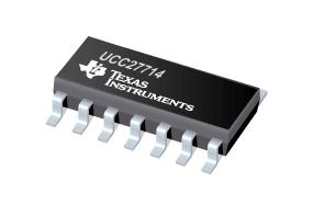 TI推出业内速度最快的600V栅极驱动器UCC27714