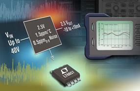 Linear推出超稳定带隙电压基准系列LT6657