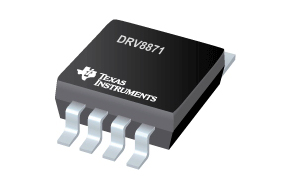 TI新款有刷DC电机栅极驱动器系列具备集成电流感测功能