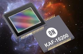 安森美半导体CCD图像传感器增添天文摄影和科学影像选项