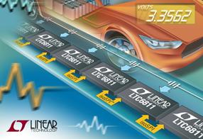 更高的准确度:Linear 推出高压电池组监视器 LTC6811