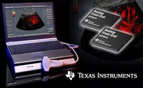 TI推出业内首款16通道医用超声波模拟前端系列AFE5818和AFE5816