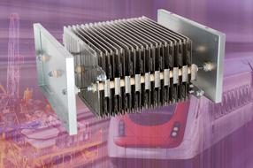 Vishay新款高功率栅格电阻 GRE2 工作温度高达+400℃