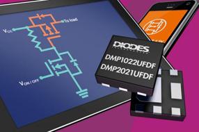 Diodes新款MOSFET能确保低电源轨能够以最低通损耗进行开关