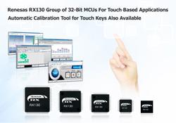 瑞萨电子新型RX130群MCU可集成用户界面和系统控制功能