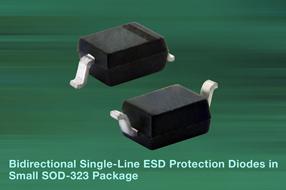 Vishay新款ESD保护二极管可有效保护汽车数据总线安全
