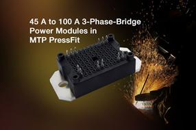 Vishay新款三相桥式功率模块能实现简单的一步式PCB贴装