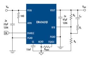 Altera推出全功能、高度集成并经过全面测试的DC-DC降压转换器EN6362QI